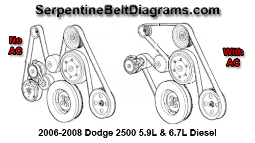 Dodge on 02 Cavalier Belt Diagram
