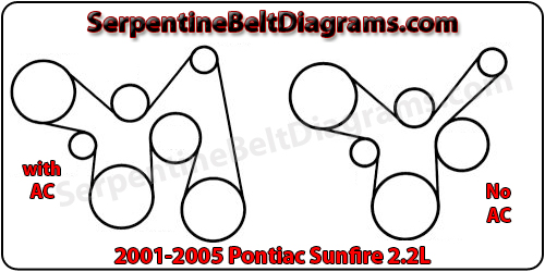 2001 2005 pontiac sunfire belt diagram. Black Bedroom Furniture Sets. Home Design Ideas